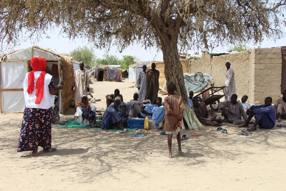 Nigéria: mais de 30.000 pessoas enfrentam necessidades agudas em Monguno, no estado de Borno. (Foto: Damaris Giuliana/MSF)
