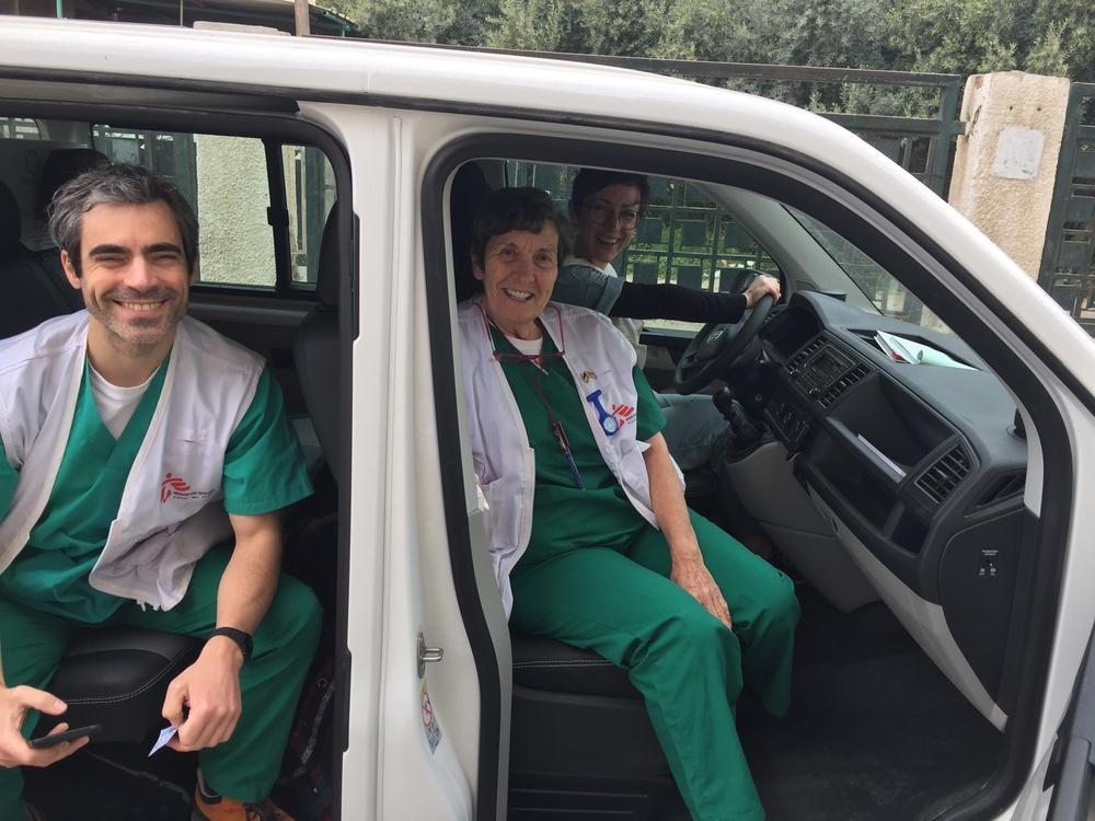 DIANE ROBERTSON BELL, Chefe de Enfermagem (Foto: MSF)