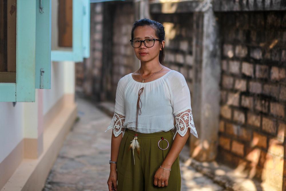 Nang Hla Htay, conselheira de MSF em Lashio, Mianmar.
