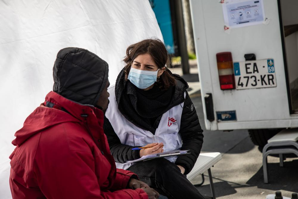 8 países onde MSF combate a COVID-19