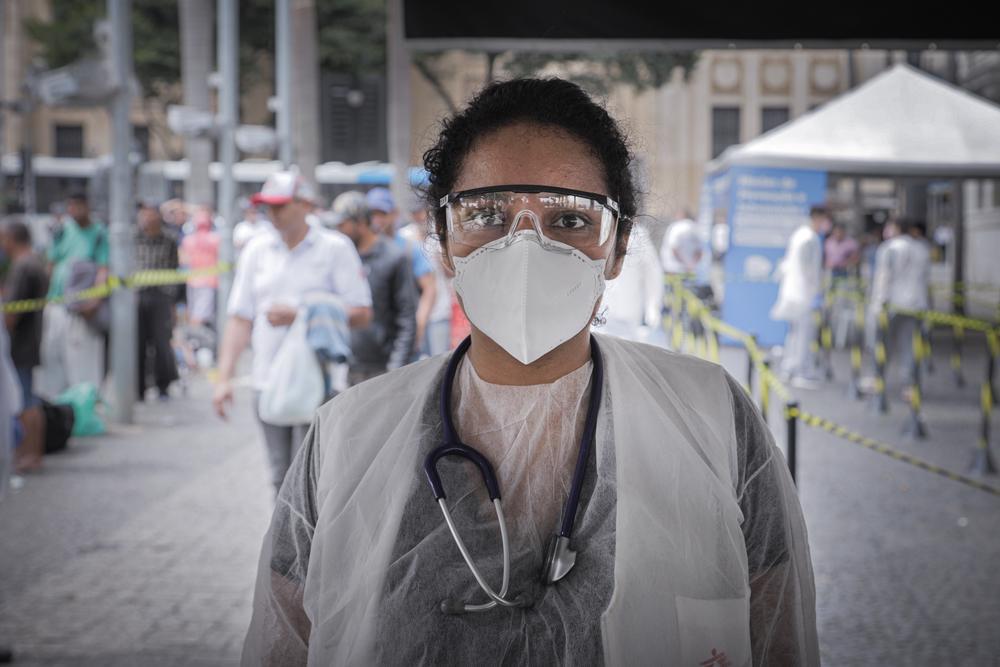 Ana Letícia Nery, coordenadora de atividades médicas em São Paulo, Brasil