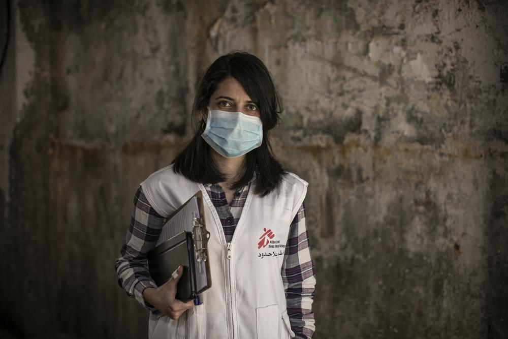 Dayana Tabbarah, promotora de saúde em Beirute, Líbano