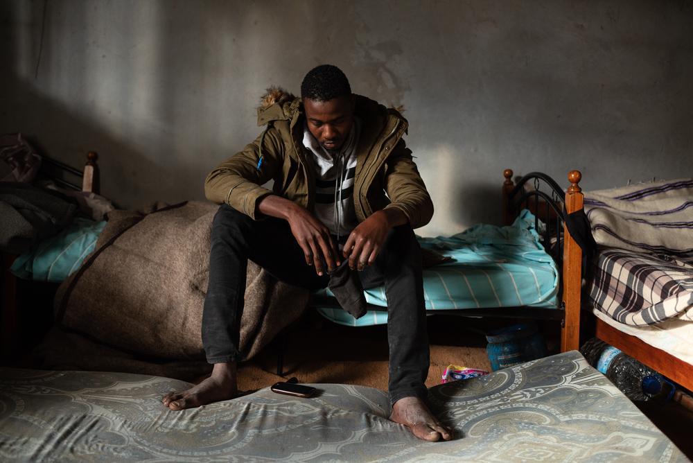 Hasan, de 17 anos.