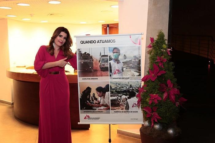 A cantora Nádia Figueiredo fez um show de Natal e aproveitou a ocasião para ajudar nossos projetos. Ela doou para MSF todo o valor arrecado com a venda de DVDs no dia do evento. Valor arrecadado: R$ 1.000,00