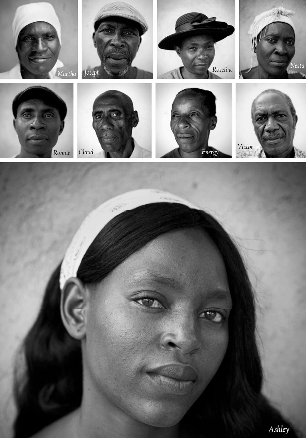 Pacientes dez anos depois da abertura da clínica (Fotos: Rachel Corner/De Beeldunie)