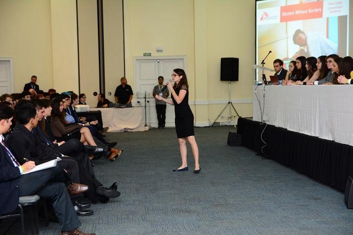 O Brazil Model United Nations Conference (BRAMUN conferência de d) é a maior debates da América Latina envolvendo alunos do ensino médio. Além dos debates, os alunos arrecadam doações para ajudar uma organização. Em 2017, escolheram beneficiar MSF. Valor arrecadado: R$ R$ 7.605,75