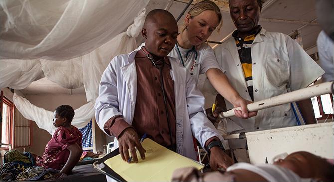 Médicos Sem Fronteiras leva cuidados de saúde a pessoas afetadas por conflitos armados, desastres naturais, epidemias, desnutrição ou sem nenhum acesso à assistência médica.