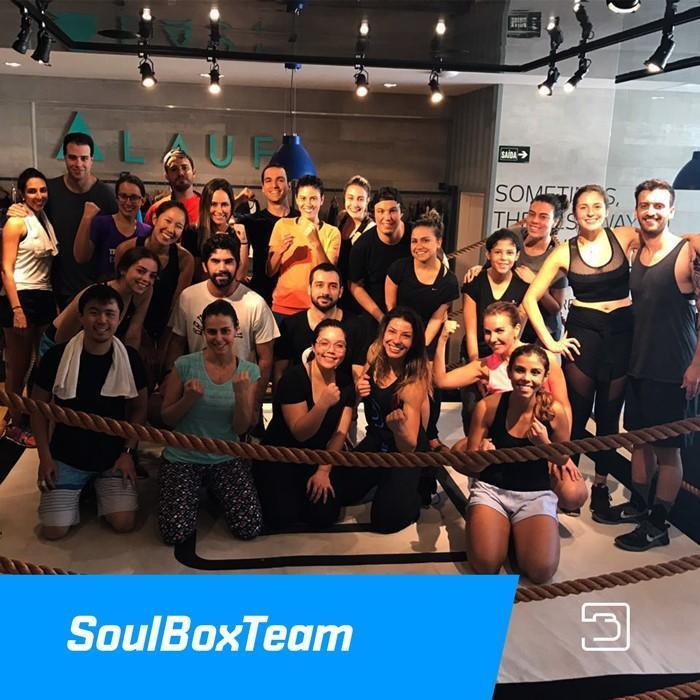 O Studio Soulbox organizou uma aula especial e reverteu o valor das inscrições para ajudar MSF. Valor arrecadado: R$ 2.800,00.
