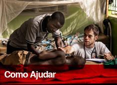 Você pode ajudar Médicos Sem Fronteiras