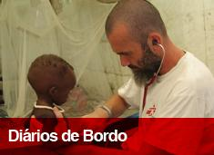 Diários de Bordo dos profissionais de Médicos Sem Fronteiras