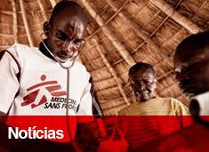 Notícias de Médicos Sem Fronteiras pelo mundo