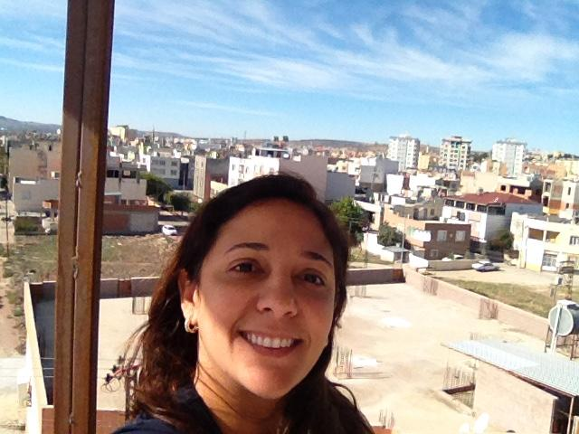 Nara Duarte, enfermeira brasileira de Médicos Sem Fronteiras. (Foto: MSF)