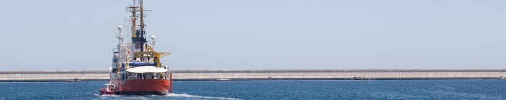 O navio Aquarius encontra em Malta um porto seguro