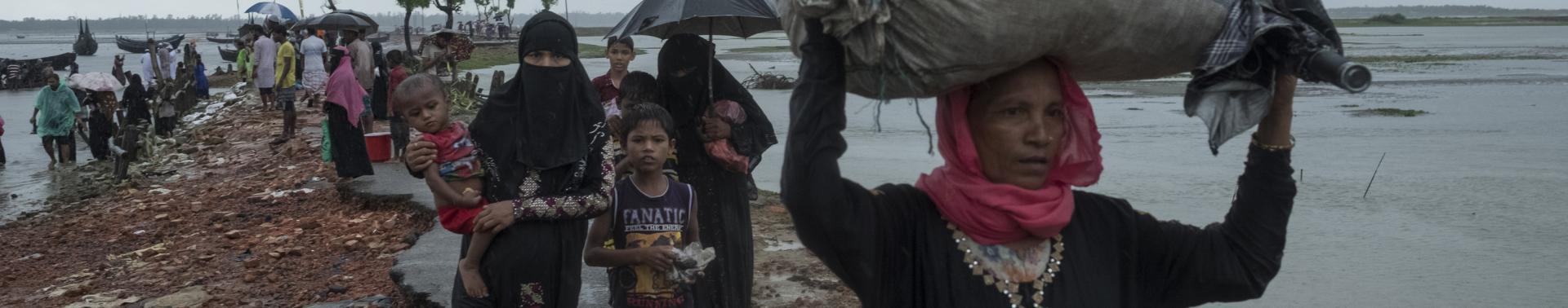 Violência sexual sofrida por rohingyas