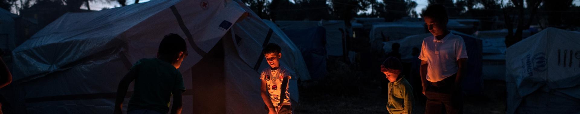 Aumentam as tentativas de suicídio entre crianças refugiadas