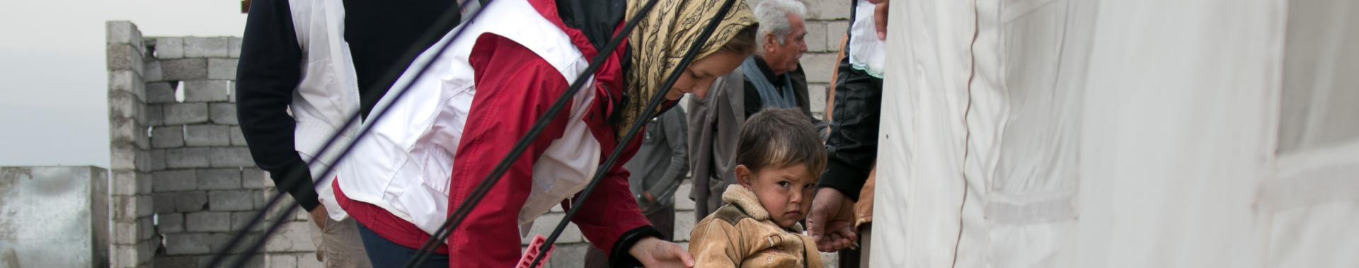 Iraque: cuidando de pessoas deslocadas de Hawija