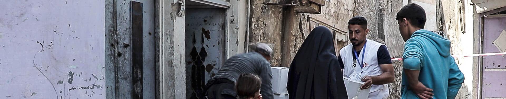 Moradores de Mossul têm necessidades urgentes
