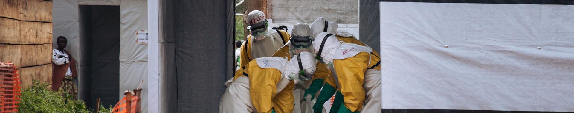 A epidemia ainda não foi contida na RDC
