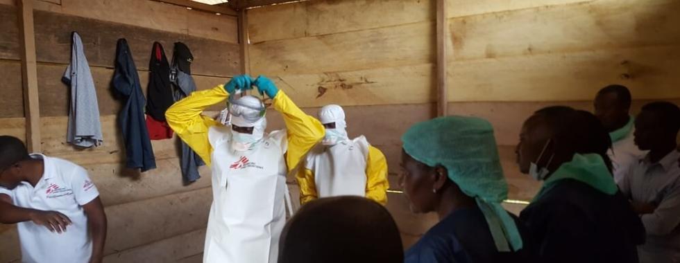 MSF responde a epidemia de Ebola na República Democrática do Congo