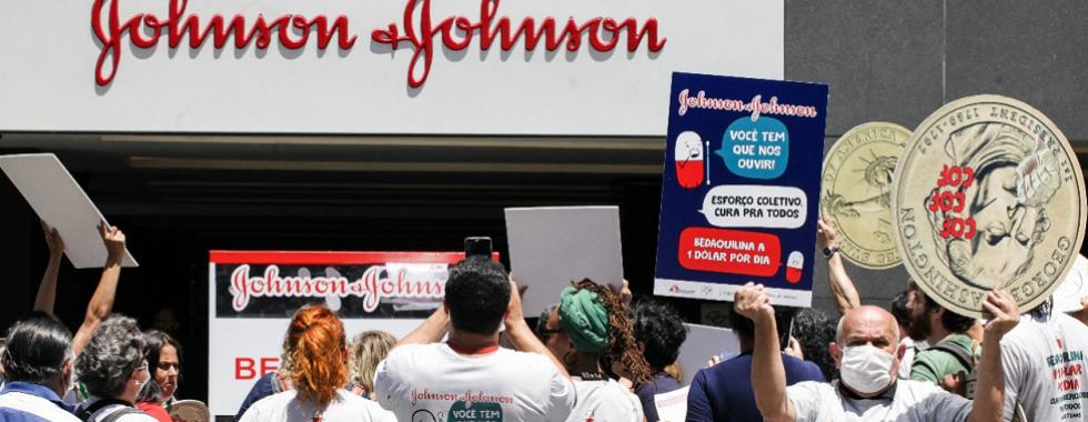 MSF lança campanha global para que Johnson & Johnson reduza preço de medicamento contra tuberculose