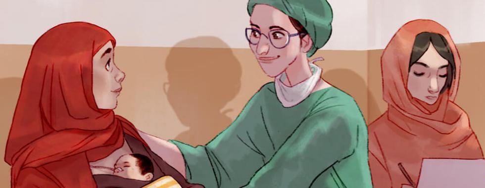 """Afeganistão: """"Minha irmã, eu vou cuidar de você"""""""