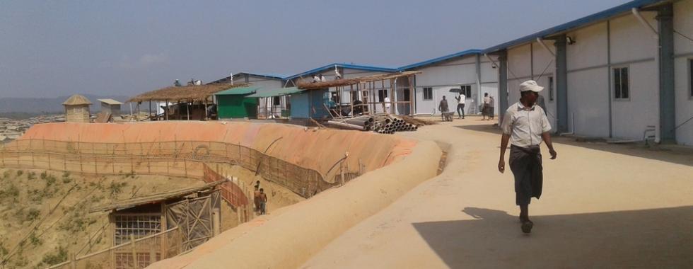 MSF abre hospital em acampamento que oferece abrigo a rohingyas
