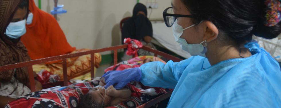 Cuidados interrompidos: enfrentando a COVID-19 em Bangladesh