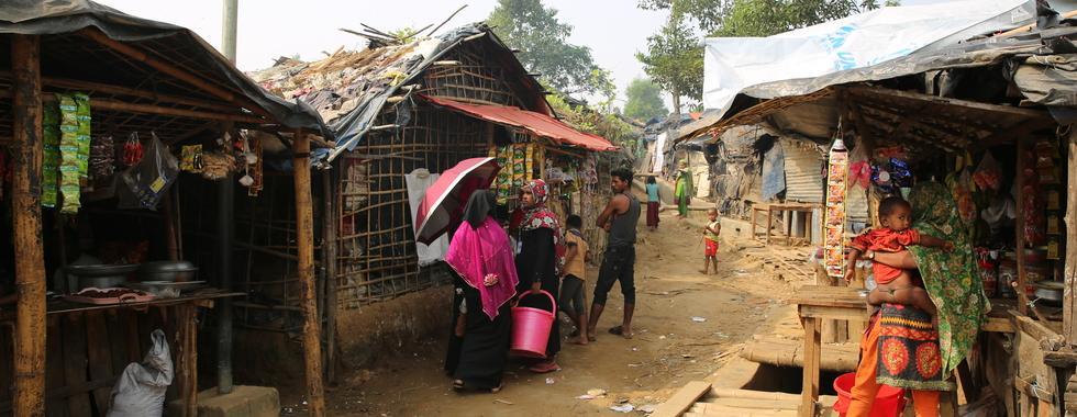 Rohingya: emergência da difteria está colocando refugiados em situação mais difícil