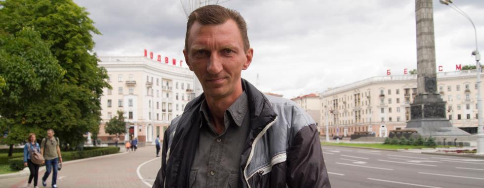 """Bielorrússia: """"Meus médicos disseram: - Essa é a única chance"""""""