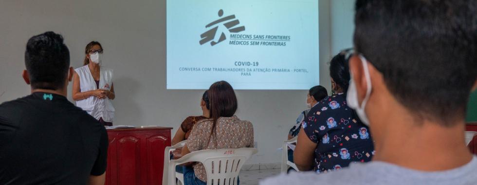 MSF apoia instituições de saúde de Portel, no Pará, nas ações de combate à COVID-19