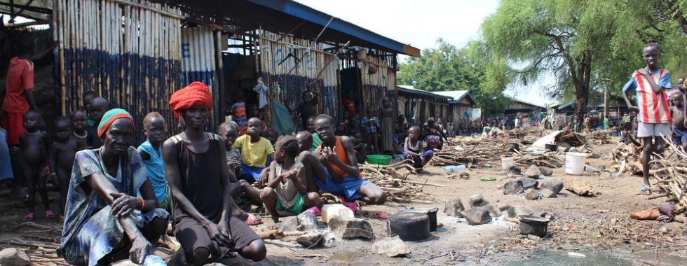 Refugiados do Sudão do Sul | Centro de Recepção Pagak