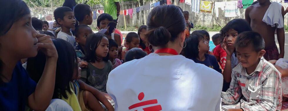 Filipinas: deslocamento e necessidades médicas em Iligan
