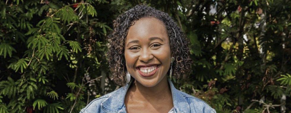 Beatriz Trindade, estagiária de comunicação de MSF-Brasil