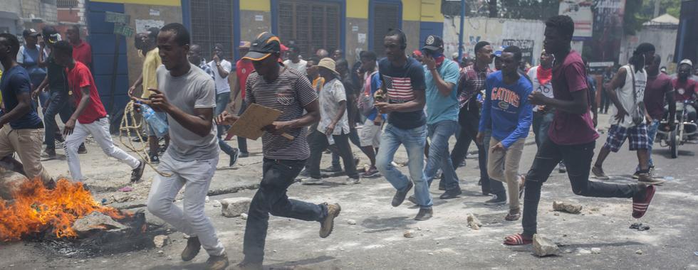 Raiva e desespero no Haiti: a saúde das pessoas em meio à crise crescente