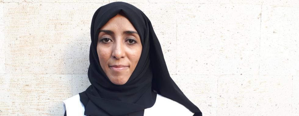 Monia Khaled, de MSF.