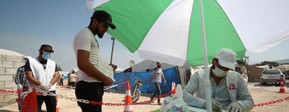 Casos de COVID-19 no noroeste da Síria saltam e impõem novos desafios à resposta humanitária