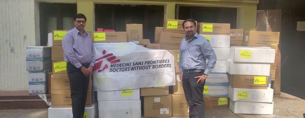 COVID-19: MSF apoia resposta no estado de Bihar, na Índia