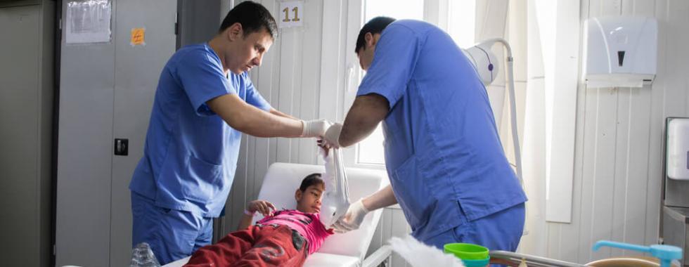 Iraque: Mossul conta com apenas 30% de sua capacidade médica