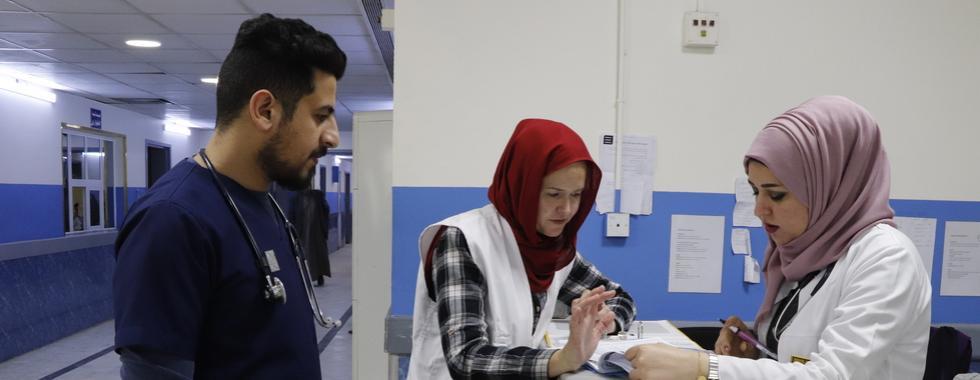 """Iraque: """"Nós ajudamos, mas os médicos iraquianos são os que fizeram funcionar"""""""