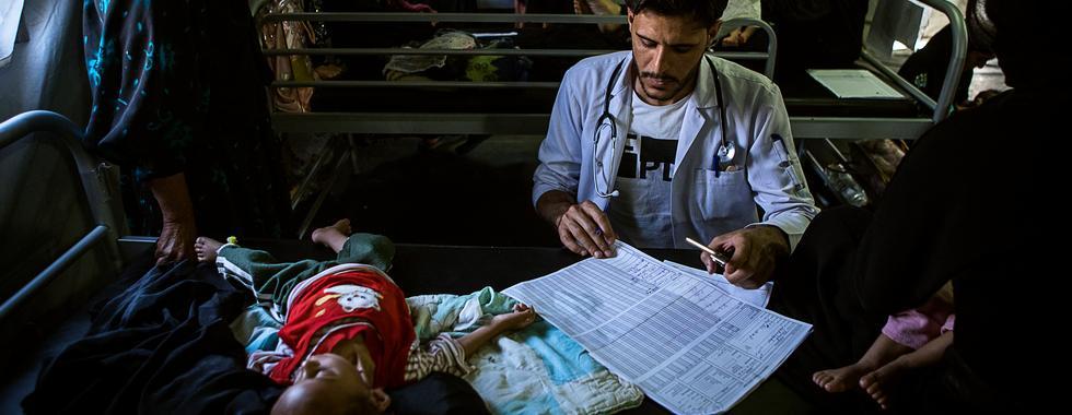 Iraque: MSF atende mais de 300 bebês desnutridos em três meses