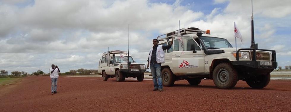 Vacinando 10 mil crianças ao longo de mais de 60 mil km de estrada