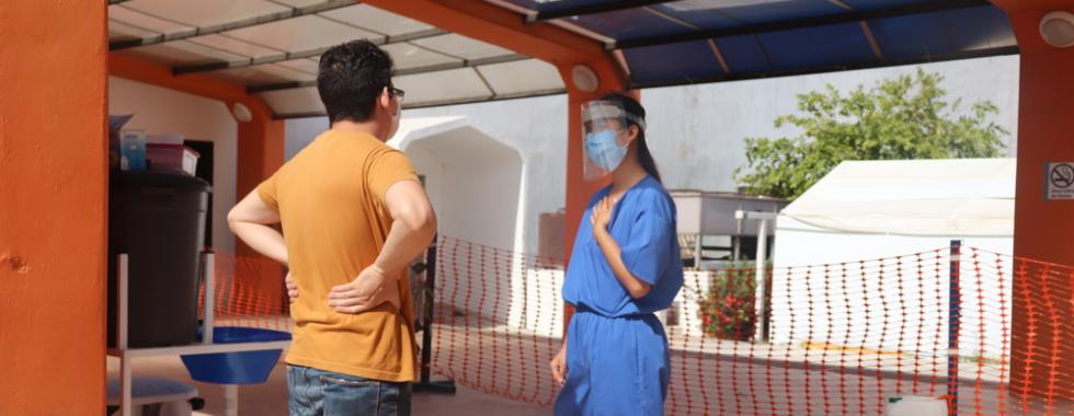 Médica de MSF na Guatemala avalia como é lidar com a solidão e o luto causados pela pandemia