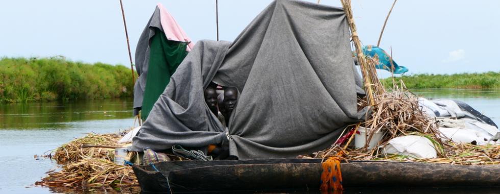 Enchentes colocam vidas em risco no Sudão do Sul