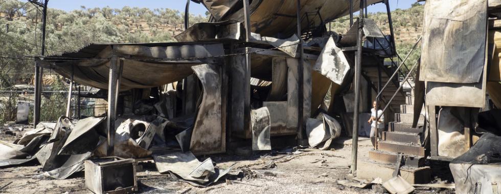 """""""O incêndio que atingiu Moria está em curso há anos"""""""