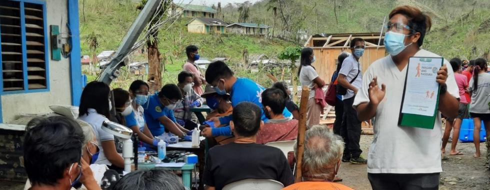 MSF atua após passagem do tufão Goni nas Filipinas