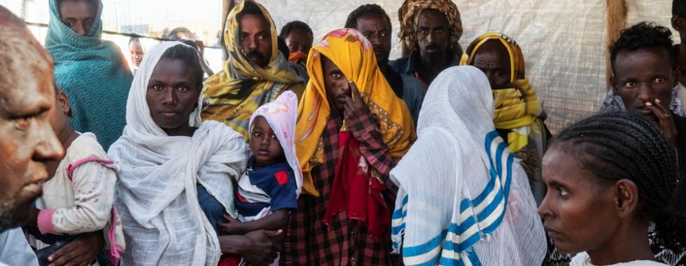"""Sudão: """"Os refugiados recém-chegados estão exaustos e seu estado de saúde é preocupante devido à viagem"""""""
