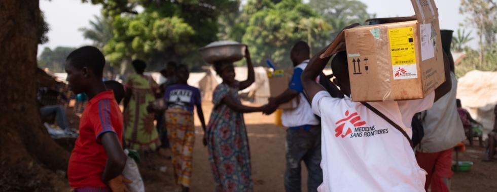 República Centro-Africana: equipes de MSF ampliam sua atuação à medida que a violência aumenta