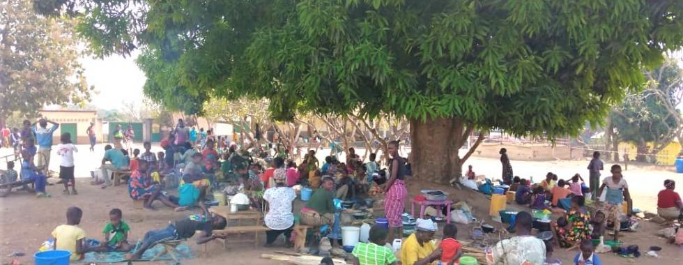 Bouar, RCA: condições de vida de deslocados são extremamente precárias