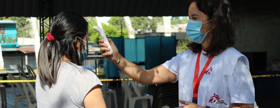 MSF reduz suas atividades em El Salvador à medida que cuidados médicos chegam às comunidades marginalizadas