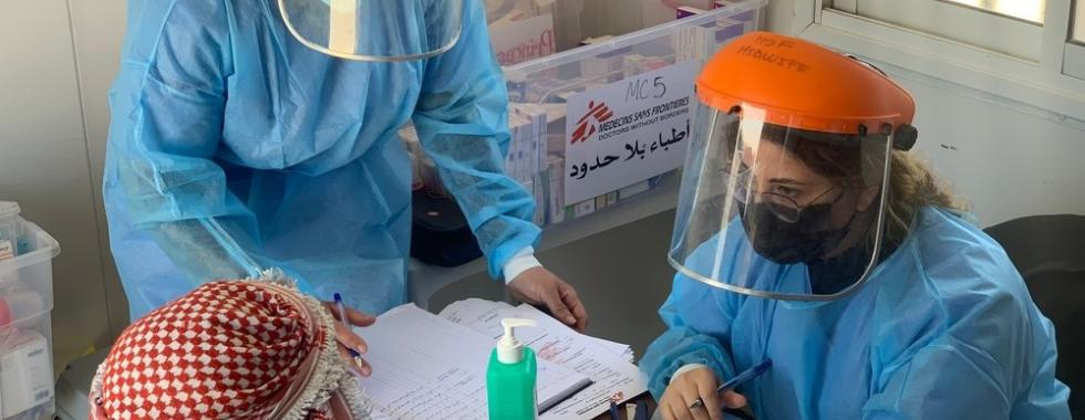 COVID-19 impõe pressão adicional ao já sobrecarregado sistema de saúde de Gaza